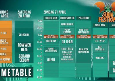 Timetable 2019
